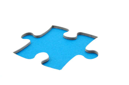 puzzle or jigsaw background with copyspace for text message                            photo