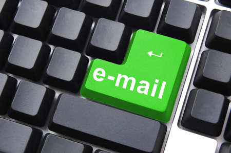e mail text on a keyboard showing internet concept Stock Photo - 5205589