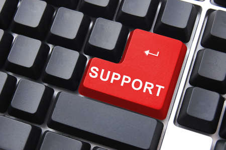support can help to find a solution for a problem                                     Stock Photo - 5565068