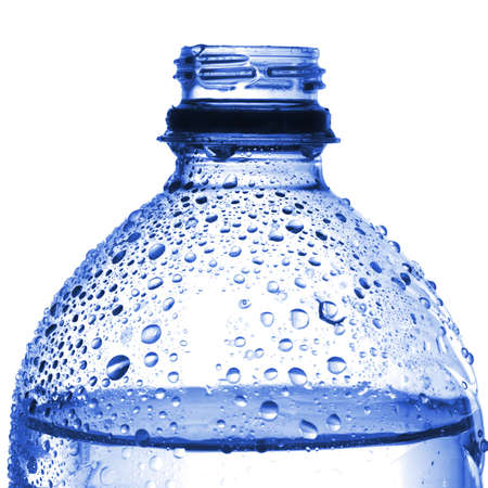 bottle of fresh cool water with drops                                    Stock Photo - 5722989
