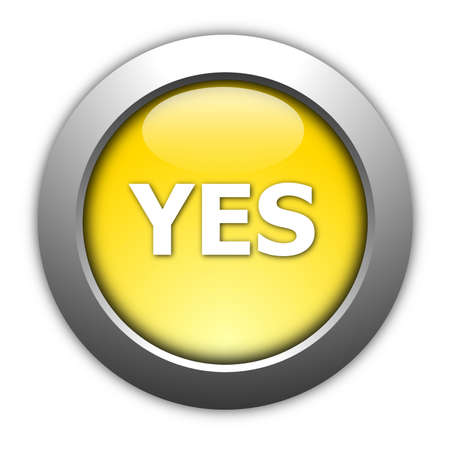 illustration of yes and no button for internet website Stock fotó - 5737944