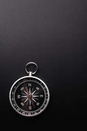 Business-Kompass und Copyspace für eine Textnachricht