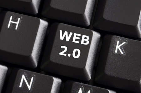 rss web or internet concept with a computer keyboard photo