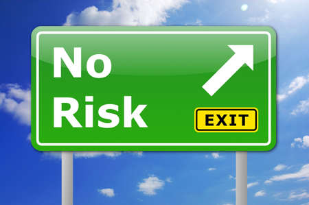 risky: risky investment of money is not funny