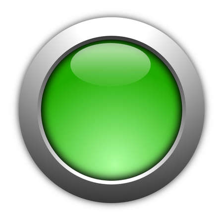 blank illustration of a button with copyspace illustration