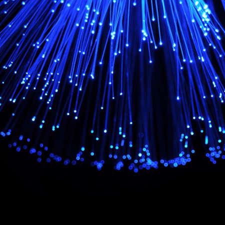 glass fiber: fiber optics cable from modern computer comminication technology