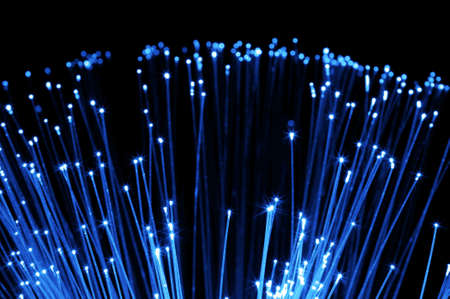 communication technology over modern dsl fiber optics Stock Photo - 5952478