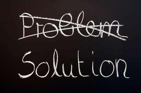 ビジネス上の問題の解決策を見つける 写真素材