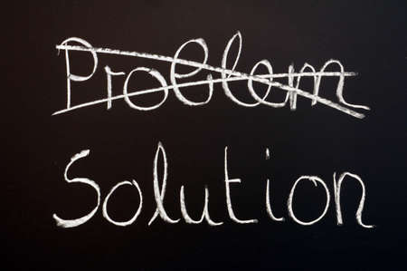 find a solution for your business problem                                     Stock Photo - 5970858