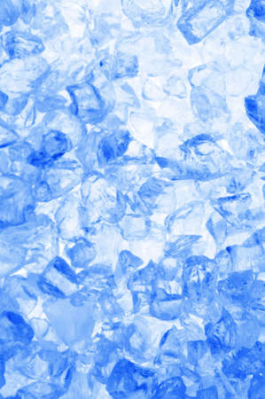 fresh cool ice cube background or wallpaper for summer or winter                                     photo
