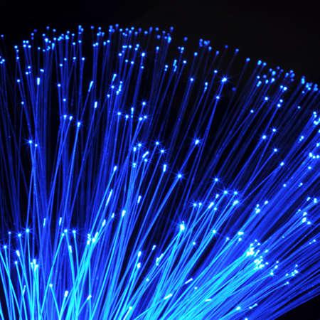 modern data transfer or network technology concept                                     photo