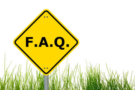 frequently asked question: faq or frequently asked question showing internet concept