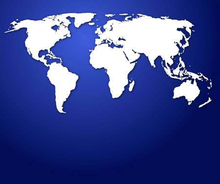 world map or globe with copyspace for a text message photo