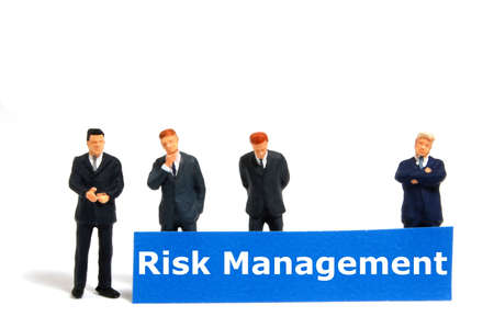 word risk management showing business investment or finance concept Stock Photo - 6306608