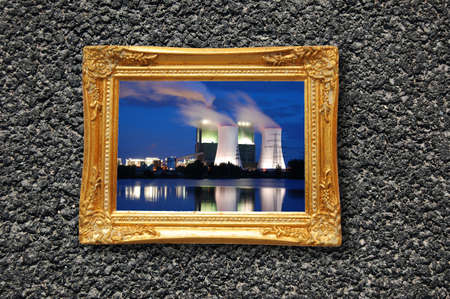oil or gas power plant showing energy supply concept Stock Photo - 6996072