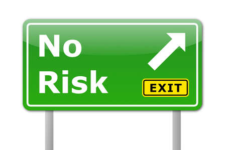 no risk concept for your financial investment Stock Photo - 7010799