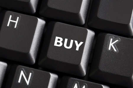 buy button on computer keyboard showing business concept Stock Photo - 7208731