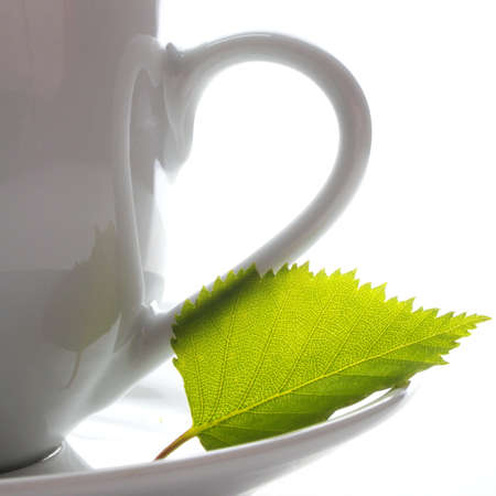 cup and copyspace showing cafe tea or beverage concept Stock Photo - 7338861