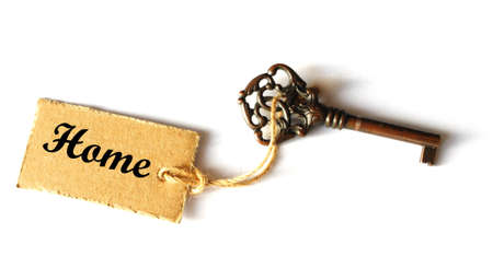 mortage: key to your new home showing real estate concept