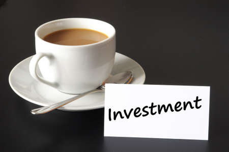 share market: financial business investment of your savings or money concept Stock Photo