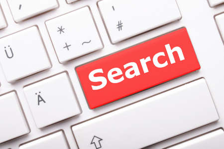 internet search concept with word and key on keyboard Stock Photo - 7795018