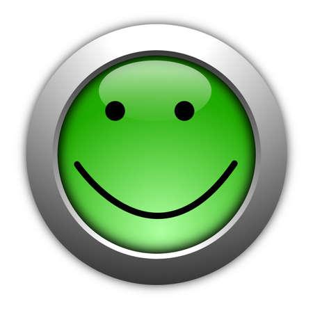 ottimo: concetto di indagine di soddisfazione cliente con smilie e pulsante