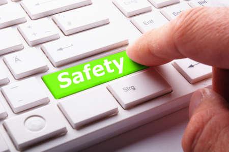 risks ahead: seguridad en primer lugar el concepto de seguridad de la clave equipo de proyecci�n
