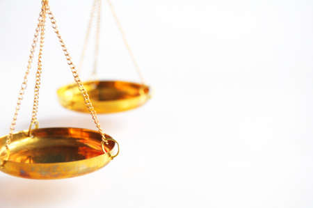 scale or scales with copyspace showing law justice or legal concept Stock Photo - 8578692