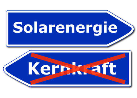 solarenergy: solar or renewabel power and energy concept with sign isolated on white background