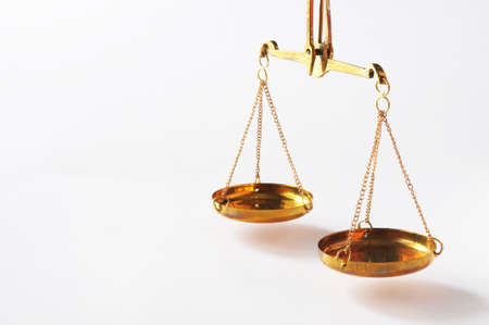 scale or scales with copyspace showing law justice or legal concept Stock Photo - 8656683
