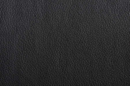 black leather texture background surface or wallpaper with copyspace photo