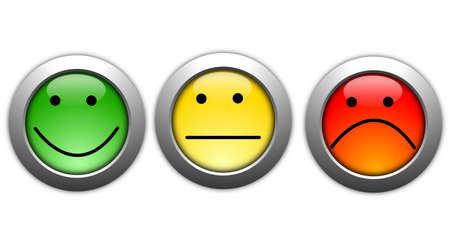 business customer service feedback concept with survey button Stock Photo - 8777618