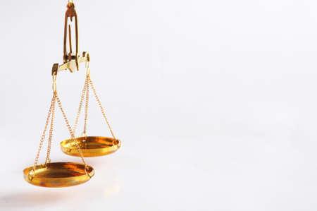 Maßstab oder Skalen with Copyspace Gesetz Justiz oder rechtliche Konzept zeigen Lizenzfreie Bilder