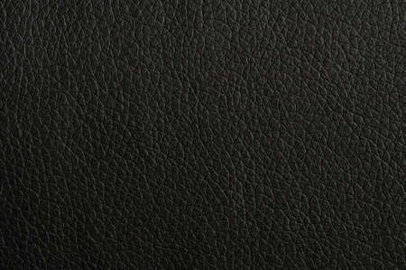 black leather texture background surface or wallpaper with copyspace Imagens