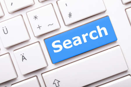 finding: internet search engine key showing information hunt concept
