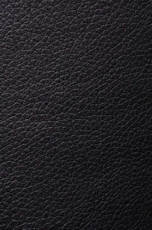 leather texture or background in black with copyspace photo