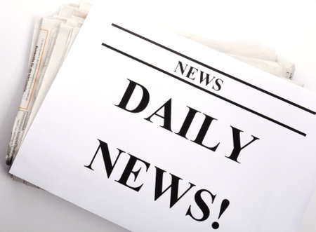 pile of newspapers: pile of newspapers showing news or newsletter concept