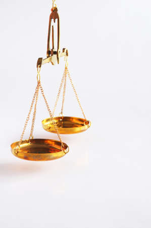 lose balance: scale or scales with copyspace showing law justice or legal concept