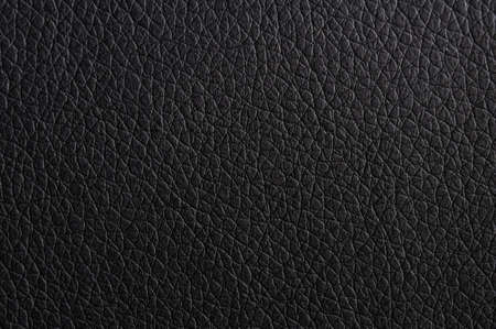 black leather texture background surface or wallpaper with copyspace Stok Fotoğraf