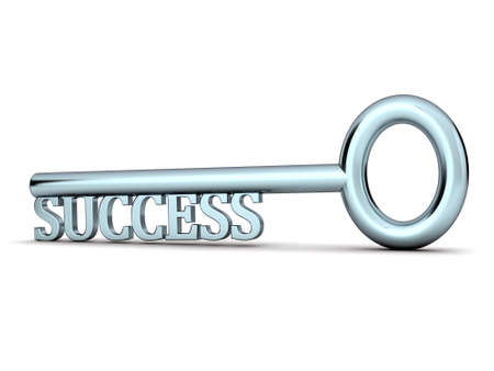 key to success Stock Photo - 9570320