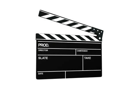 clapperboard Stock Photo - 9624134