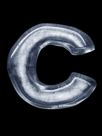 coldly: Ice Letter C