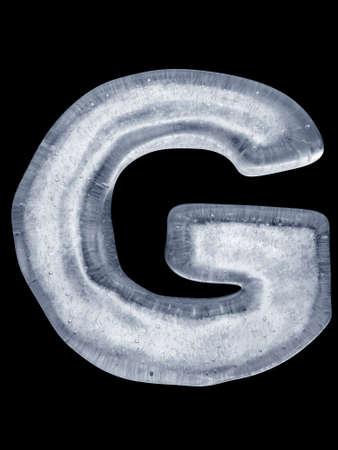 letter memo: Ice Letter G