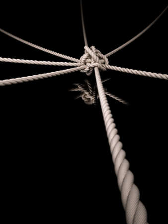 tightrope: Rope Knot
