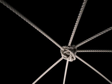 unity is strength: Rope Knot