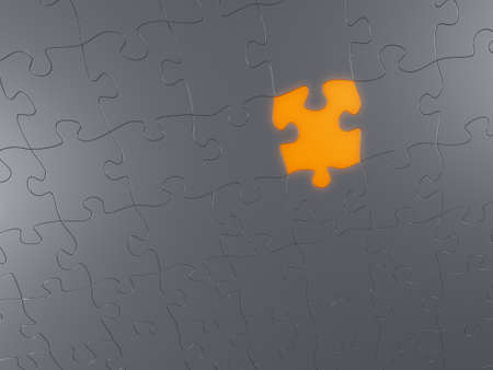 jigsaw puzzle surface Stock Photo - 11310629