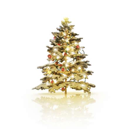 weihnachtsbaum: 3D Christmas tree