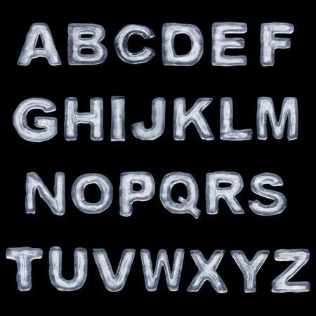 Ice Font ABC
