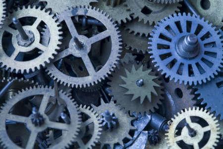 Parts clocks Stock Photo