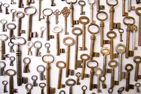 Style keys Stock Photo - 4374208